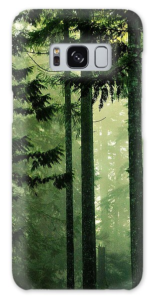 Shadows Of Light Galaxy Case by Connie Handscomb