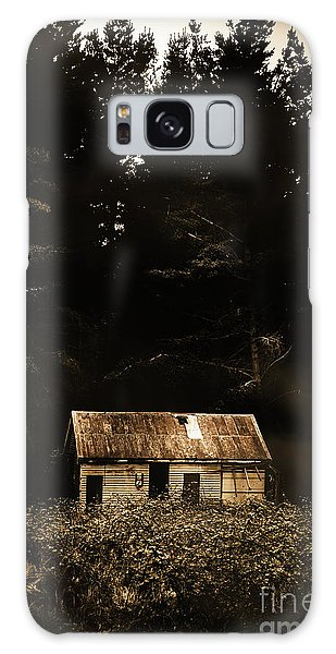 Shed Galaxy Case - Shadows Of Mornings First Light by Jorgo Photography - Wall Art Gallery