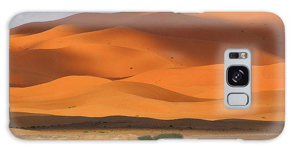 Galaxy Case featuring the photograph Shadows On The Dunes by Ramona Johnston