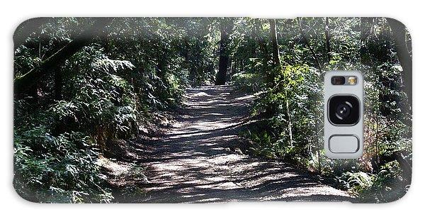 Shady Road On Mt Tamalpais Galaxy Case