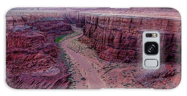 Shafer Canyon At Sunset - Moab - Utah Galaxy Case by Gary Whitton