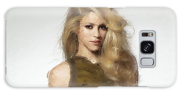 Shakira Galaxy Case by Iguanna Espinosa