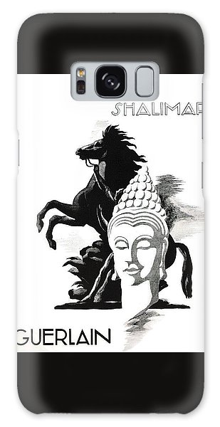 Galaxy Case featuring the digital art Shalimar by ReInVintaged