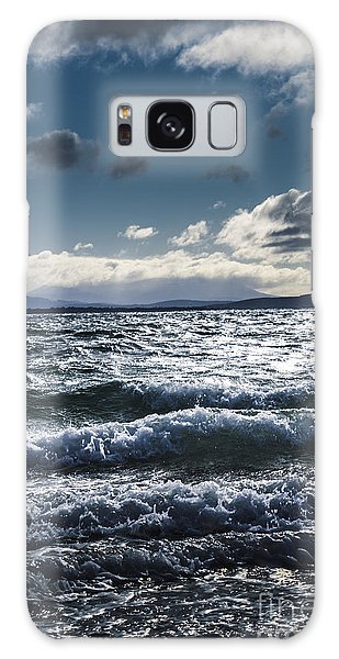 Breaking Dawn Galaxy Case - Shallows And Depths Of Adventure Bay by Jorgo Photography - Wall Art Gallery