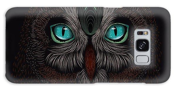 Shaman Spirit Owl Galaxy Case