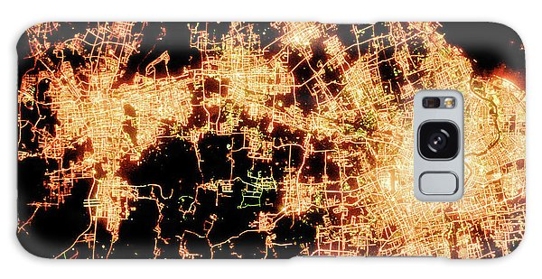 Shanghai From Space Galaxy Case by Delphimages Photo Creations