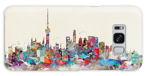 Shanghai Skyline Galaxy Case