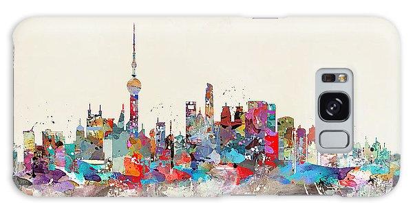 Shanghai Skyline Galaxy Case by Bri B