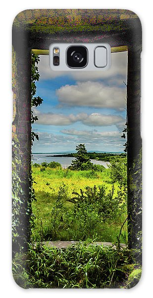 Galaxy Case featuring the photograph Shannon Estuary From Abandoned Paradise House by James Truett
