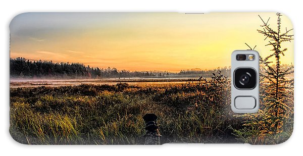 Sharing A September Sunrise With A Retriever Galaxy Case