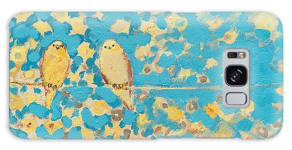 Impressionist Galaxy Case - Sharing A Sunny Perch by Jennifer Lommers