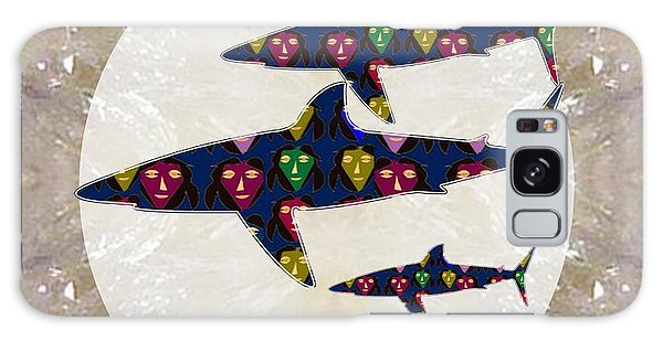 Shark Fish Dangerous Painted Cartoon Face Link For Download Option Below Personal N Commercial Uses Galaxy Case