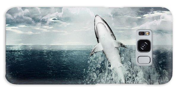 Shark Watch Galaxy Case