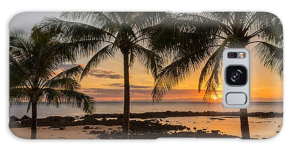 Scenery Galaxy Case - Sharks Cove Sunset 4 - Oahu Hawaii by Brian Harig