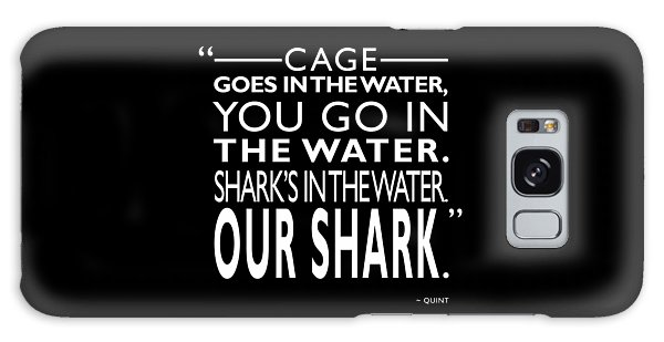 Sharks Galaxy Case - Sharks In The Water by Mark Rogan