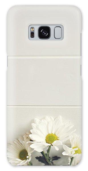 Shasta Daisies Cropped 1 Galaxy Case