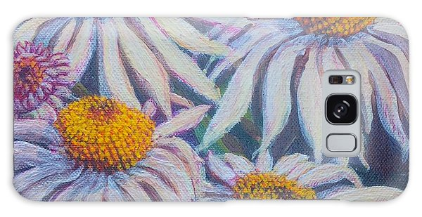 Shasta Daisy#1 Galaxy Case