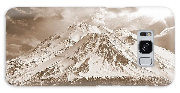 Shasta Mt Galaxy Case by Athala Carole Bruckner