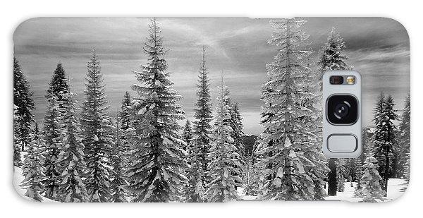 Shasta Snowtrees Galaxy Case by Martin Konopacki