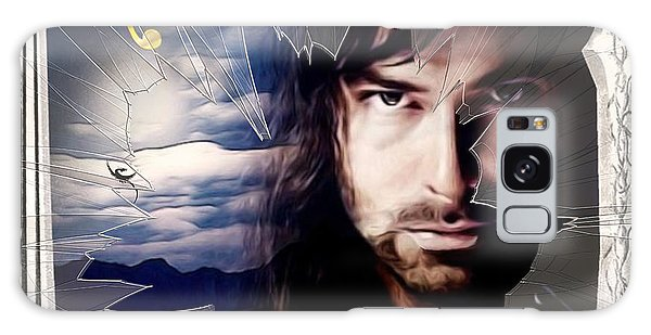 Shattered Kili With Swords Galaxy Case