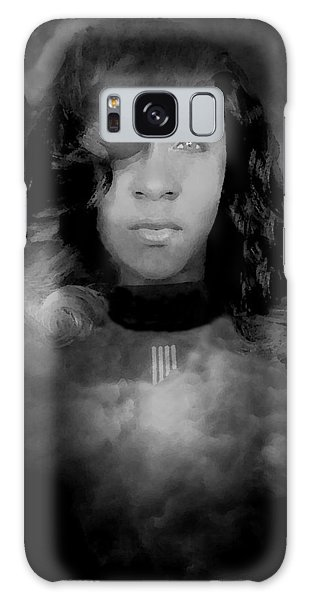 Shavon Portrait Galaxy Case