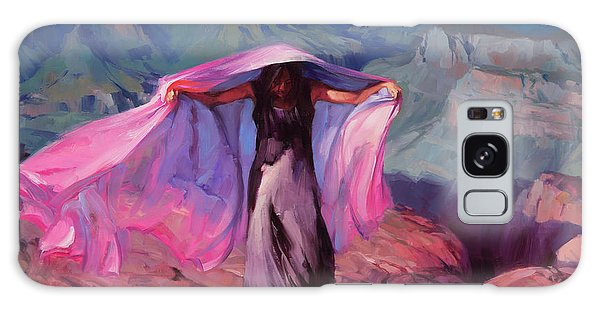 Figures Galaxy Case - She Danced By The Light Of The Moon by Steve Henderson