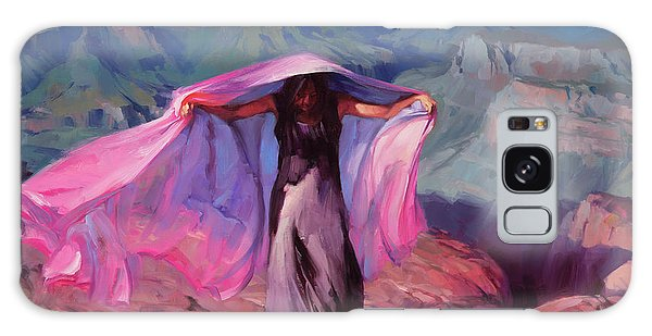 Grand Canyon Galaxy S8 Case - She Danced By The Light Of The Moon by Steve Henderson