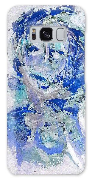 She Dreams In Blue Galaxy Case