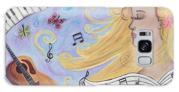 She Dreams In Music Galaxy Case