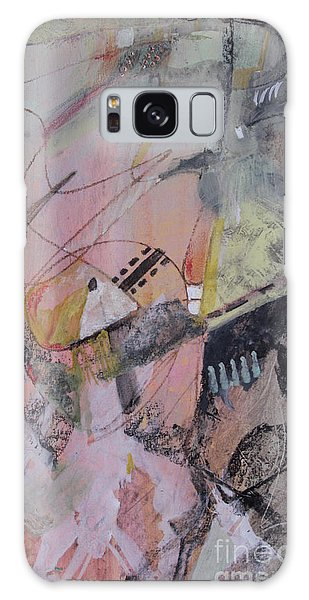 Galaxy Case featuring the mixed media She Got Lost On Purpose by Robin Maria Pedrero