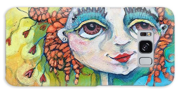 She Has Lots Of Heart To Give Galaxy Case by Michelle Spiziri