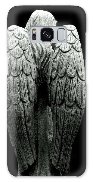 She Talks With Angels Galaxy Case