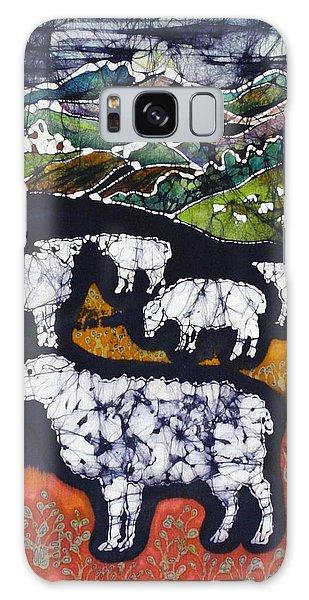 Sheep At Midnight Galaxy Case