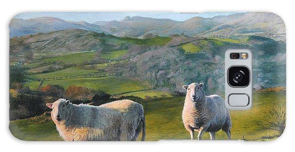 Sheep At Rhug Galaxy Case