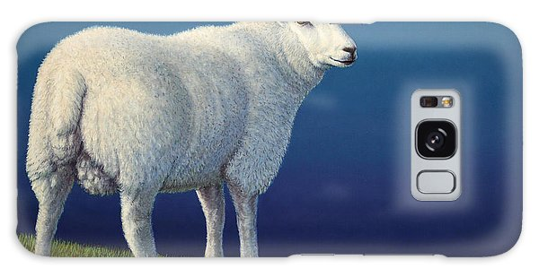 Sheep Galaxy Case - Sheep At The Edge by James W Johnson
