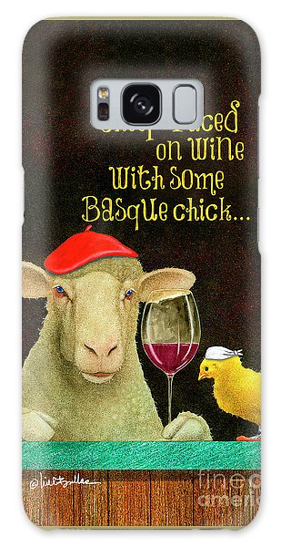sheep-faced on wine with some Basque chick... Galaxy Case