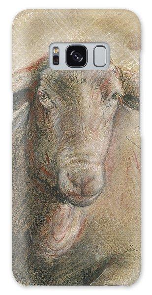 Sheep Galaxy Case - Sheep Head by Juan Bosco