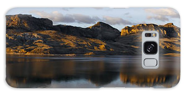 Sheep Mountain Sunrise - Panoramic-signed-12x55 Galaxy Case