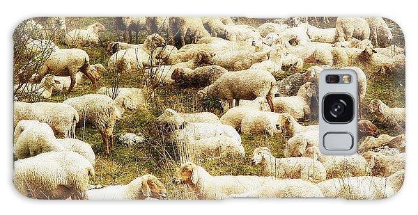 Sheep Galaxy Case by Vittorio Chiampan