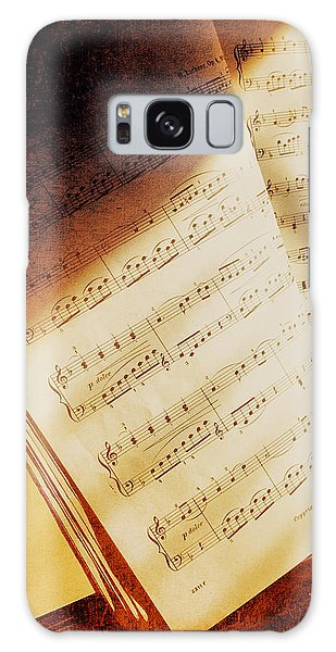 Sheet Music Galaxy Case by Eleanor Abramson