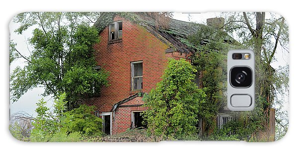 Sheffield House Panorama Galaxy Case by Bonfire Photography