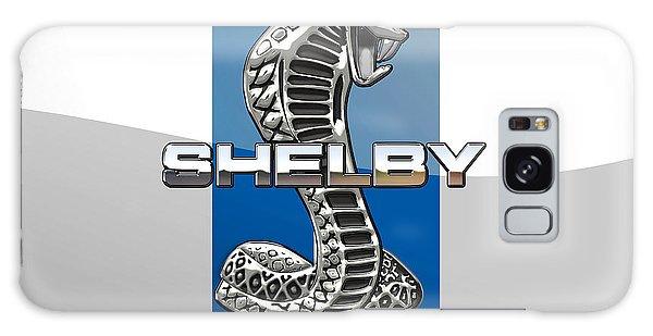 Automotive Galaxy Case - Shelby Cobra - 3d Badge by Serge Averbukh