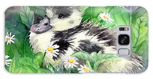 Gosling Galaxy Case - Shelduck Chick by Tammy Crawford