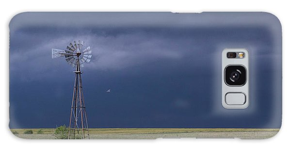 Shelf Cloud And Windmill -02 Galaxy Case
