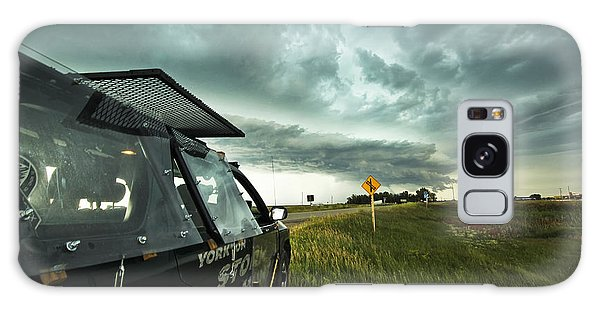 Shelf Cloud Near Vibank Sk. Galaxy Case by Ryan Crouse