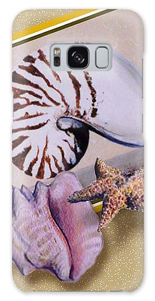 Shell Collage Galaxy Case