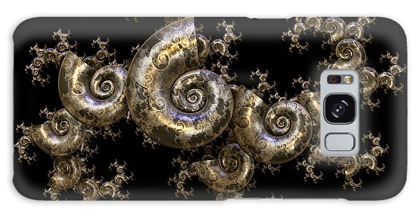 Shell Fractal Dragon Galaxy Case