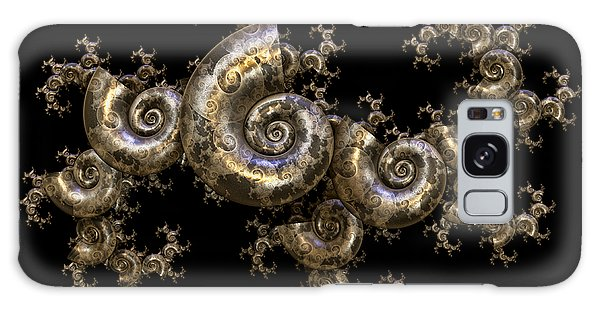 Shell Fractal Dragon Galaxy Case by Manny Lorenzo