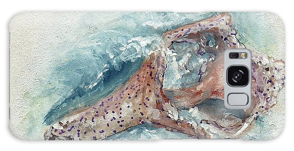 Shell Gift From The Sea Galaxy Case by Doris Blessington
