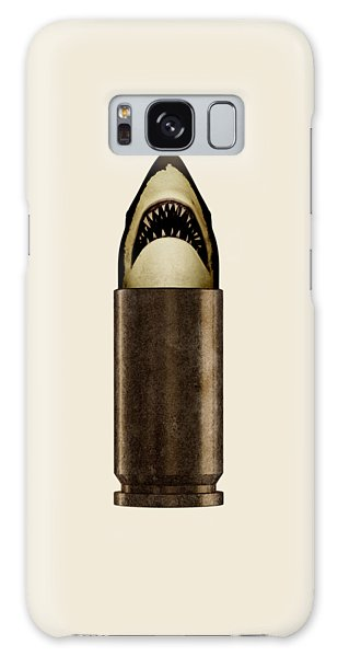Poster Galaxy Case - Shell Shark by Nicholas Ely